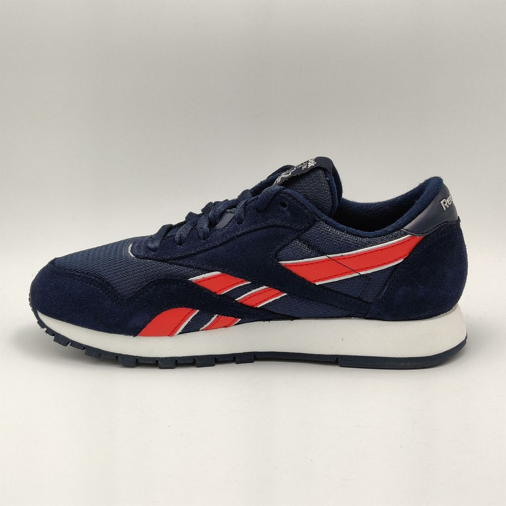 Reebok Junior Classic Balistic Retro Trainers - Blue - UK 3.5