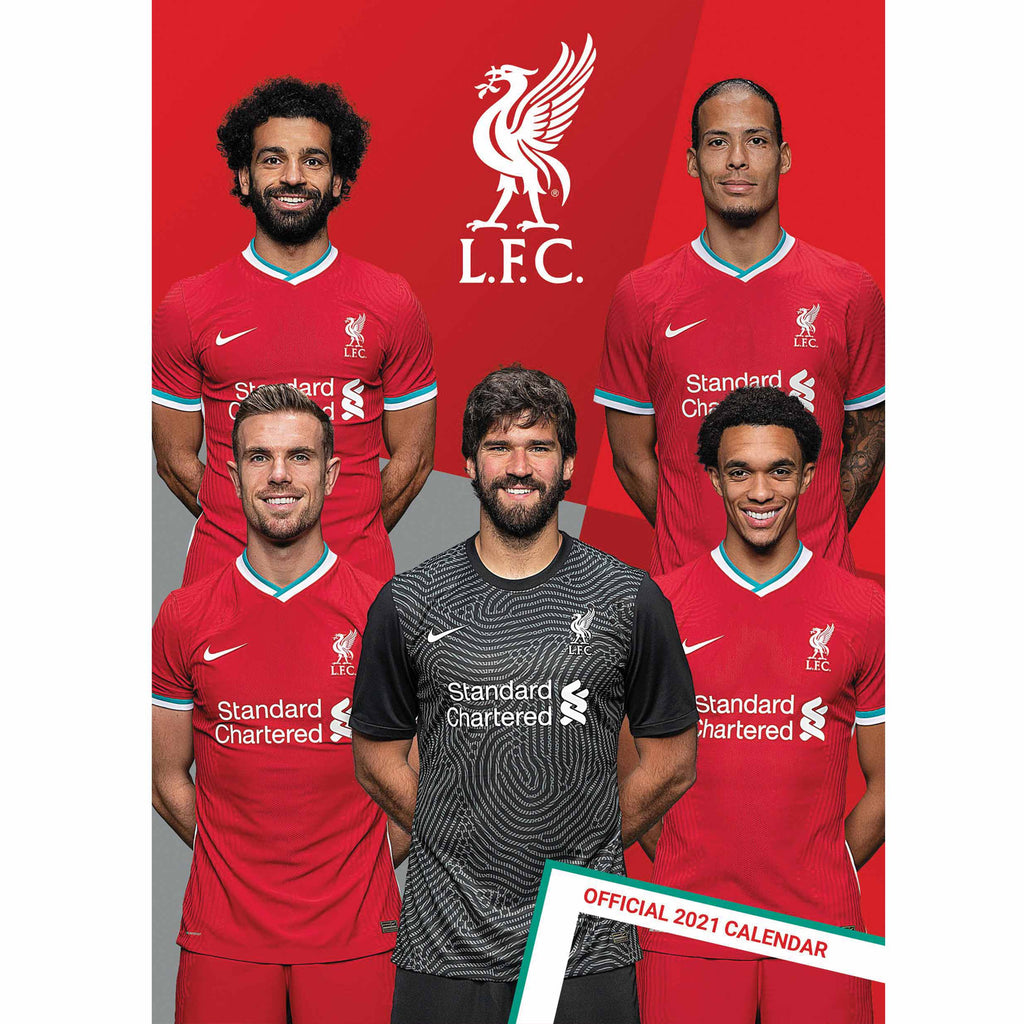 Liverpool Official A3 Supporters 2021 Calendar - RRP £9.99