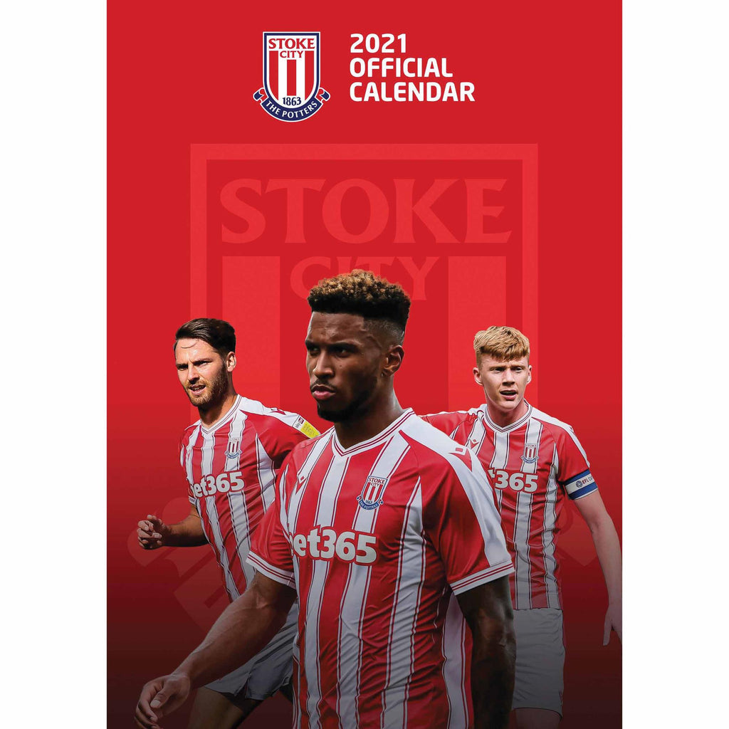 Stoke City Official A3 Supporters 2021 Calendar - RRP £9.99