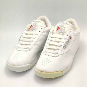 Reebok Junior Classic Leather Trainers - Faulty - White - UK 3.5
