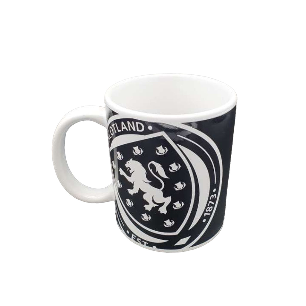 Scotland FA Large Logo Monochrome Mug
