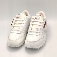 Reebok Classic Leather D Label Junior Shoes - White - UK K12.5 - Faulty