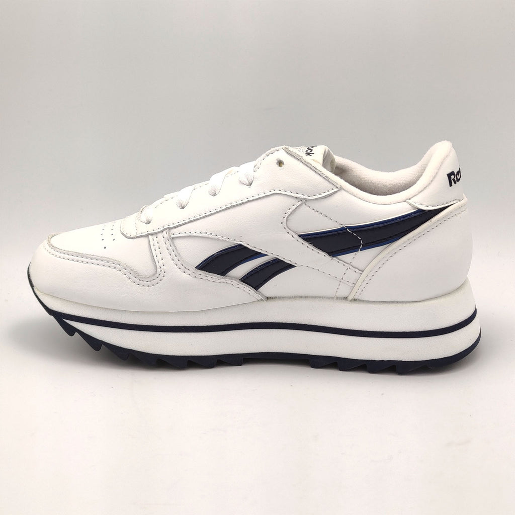Reebok Classic Leather Dubble Shoes - White - UK 3.5