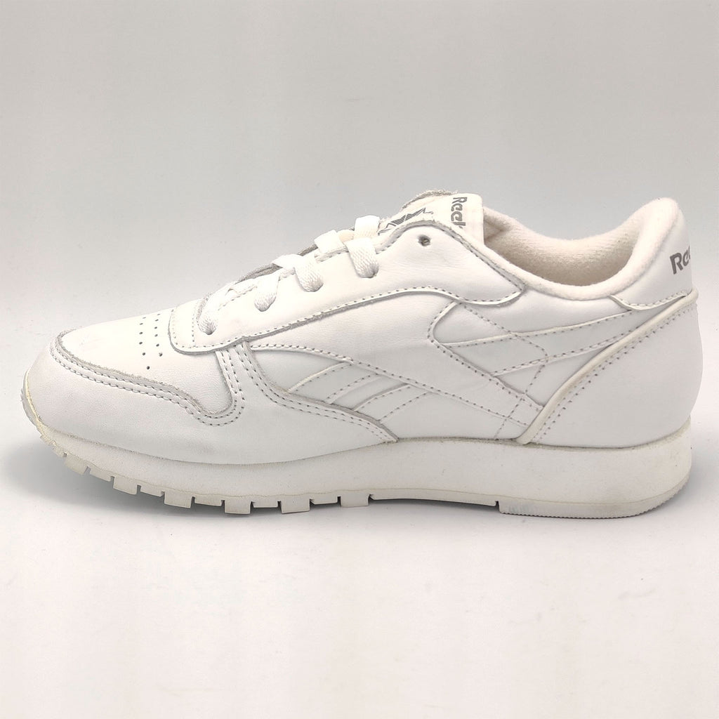 Reebok Classic Leather Junior Shoes - White - UK 3.5 - Faulty