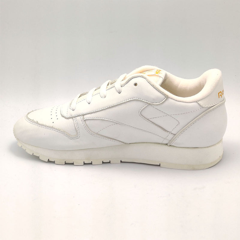 Reebok Classic Leather Birthstone Junior Shoes - White - UK 3.5 - Faulty