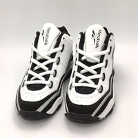 Reebok Classic Junior Shoes - White/Black - UK K12.5