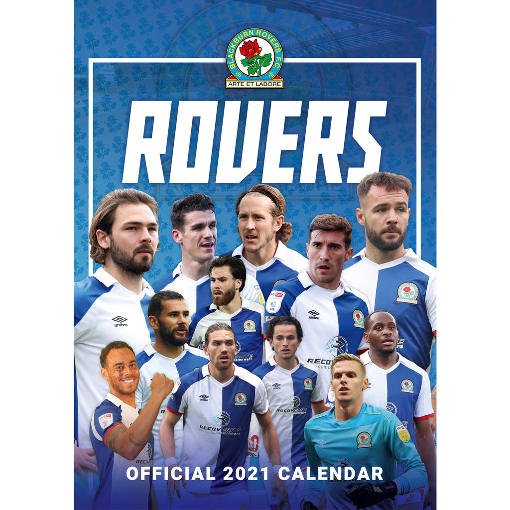 Blackburn Official A3 Supporters 2021 Calendar - RRP £9.99