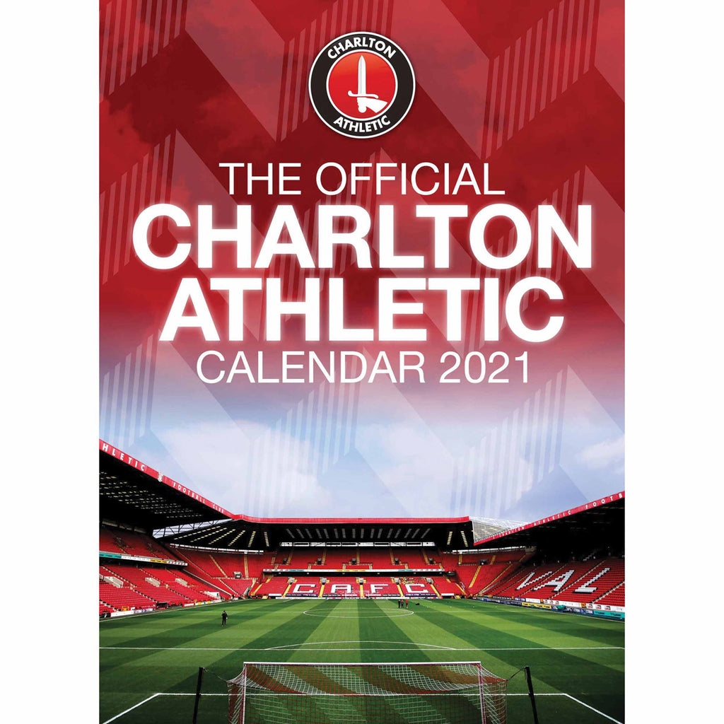 Charlton Athletic Official A3 Supporters 2021 Calendar - RRP £9.99