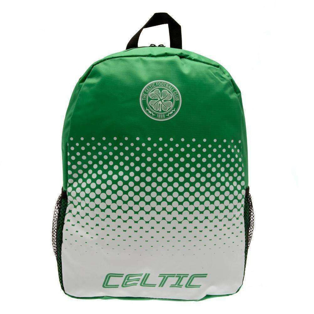 Celtic FC Official Fade Backpack - Green - One Size