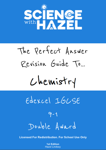 The Perfect Answer Revision Guide - Edexcel IGCSE Chemistry 9-1 (Double Award): School Licence