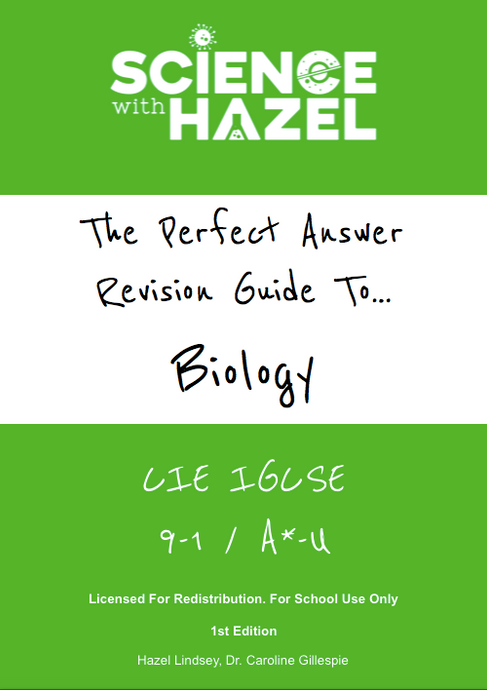 School Licence: CIE 9-1 IGCSE Perfect Answer PDF Revision