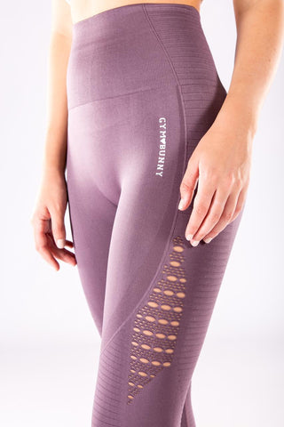 Image of Gym Bunny Flex  - Seamless Leggings - Mauve