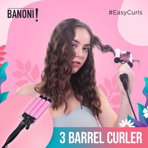 Three Barrel Hair Curler