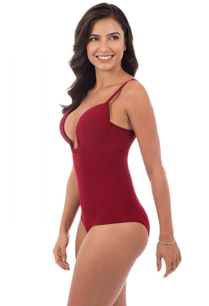 Shape & Shine - Wonder body cleavage body suit Plié Shapewear