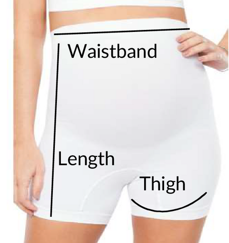 Maternity High waist boxer shorts Plié Shapewear