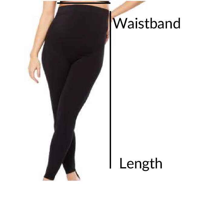 Maternity High Waist Leggings Plié Shapewear