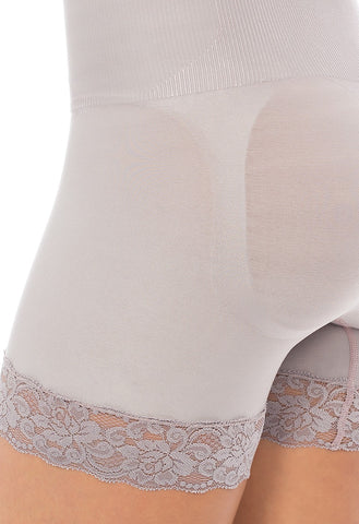 Image of Shades - Lacy High Waist boxer Plié Shapewear