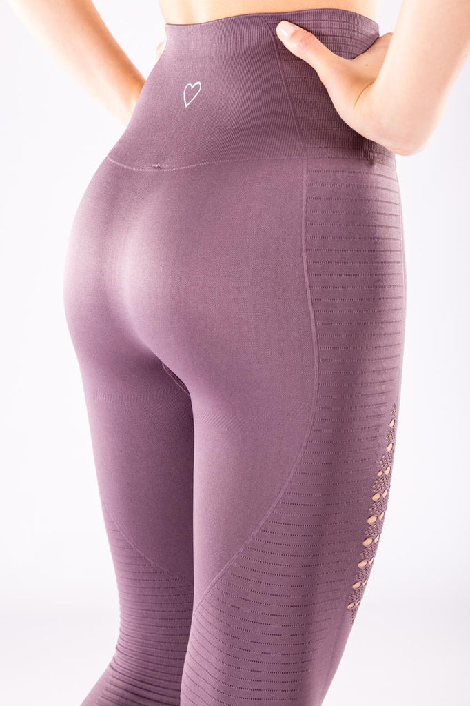 Gym Bunny Flex  - Seamless Leggings - Mauve