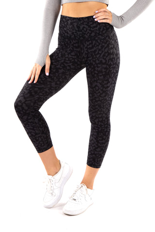 Gym Bunny Animal instincts leggings  - Leopard