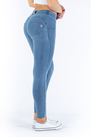 Image of Butt lifting Jeggings -light Blue