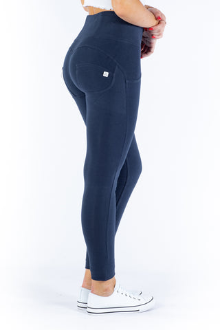 High waist Butt lifting Jeggings - Navy