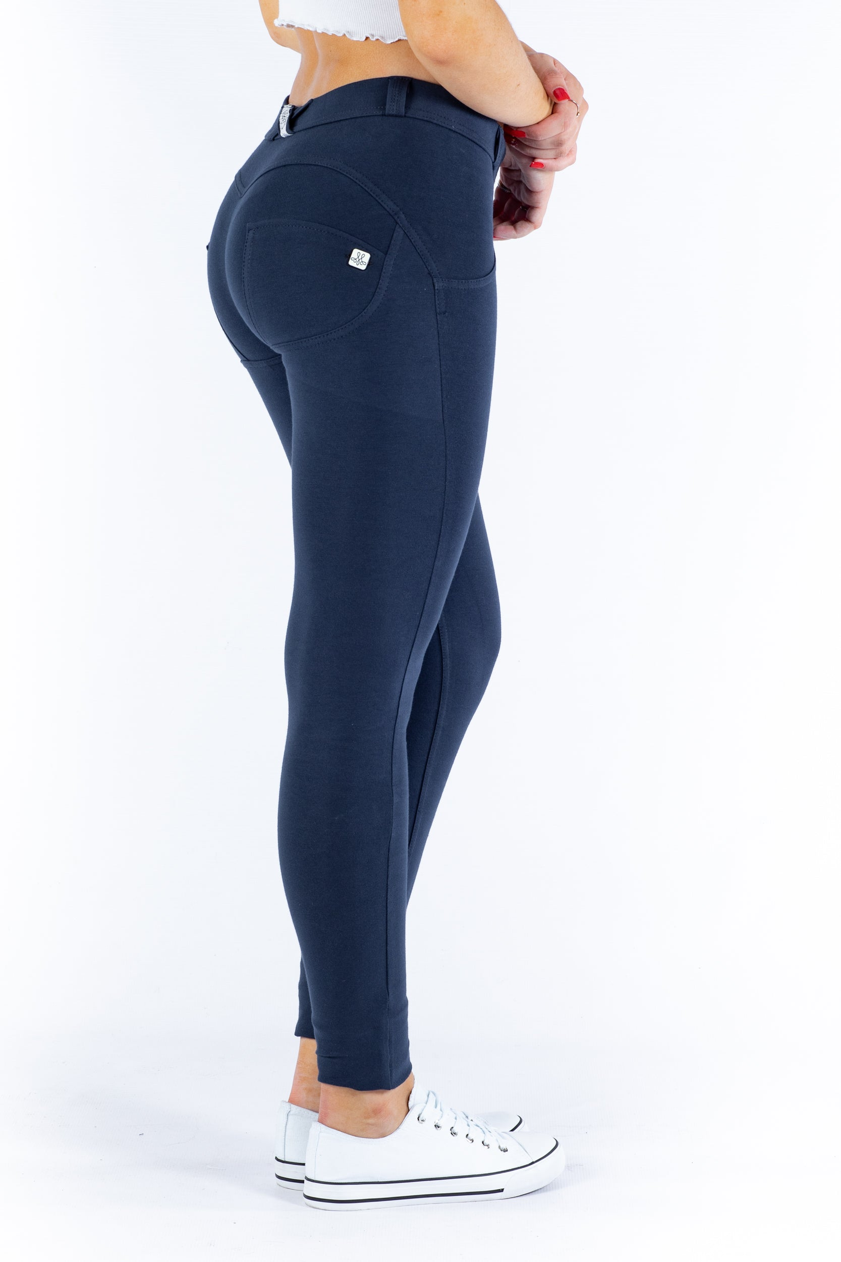 Image of Butt lifting Jeggings - Navy Blue