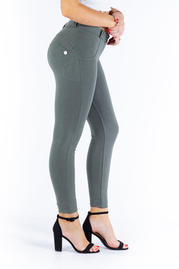 Butt lifting Jeggings - Olive