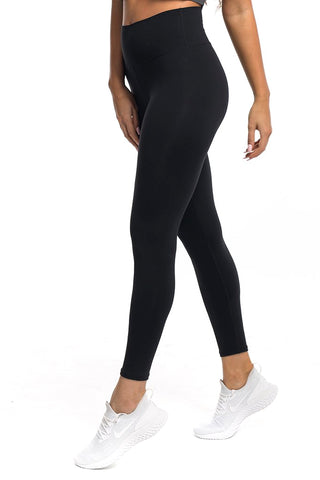 Gym bunny Scrunch -ruching leggings - Black