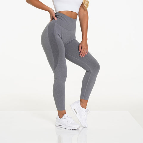 Gymbunny Contour Seamless leggings- Light Grey