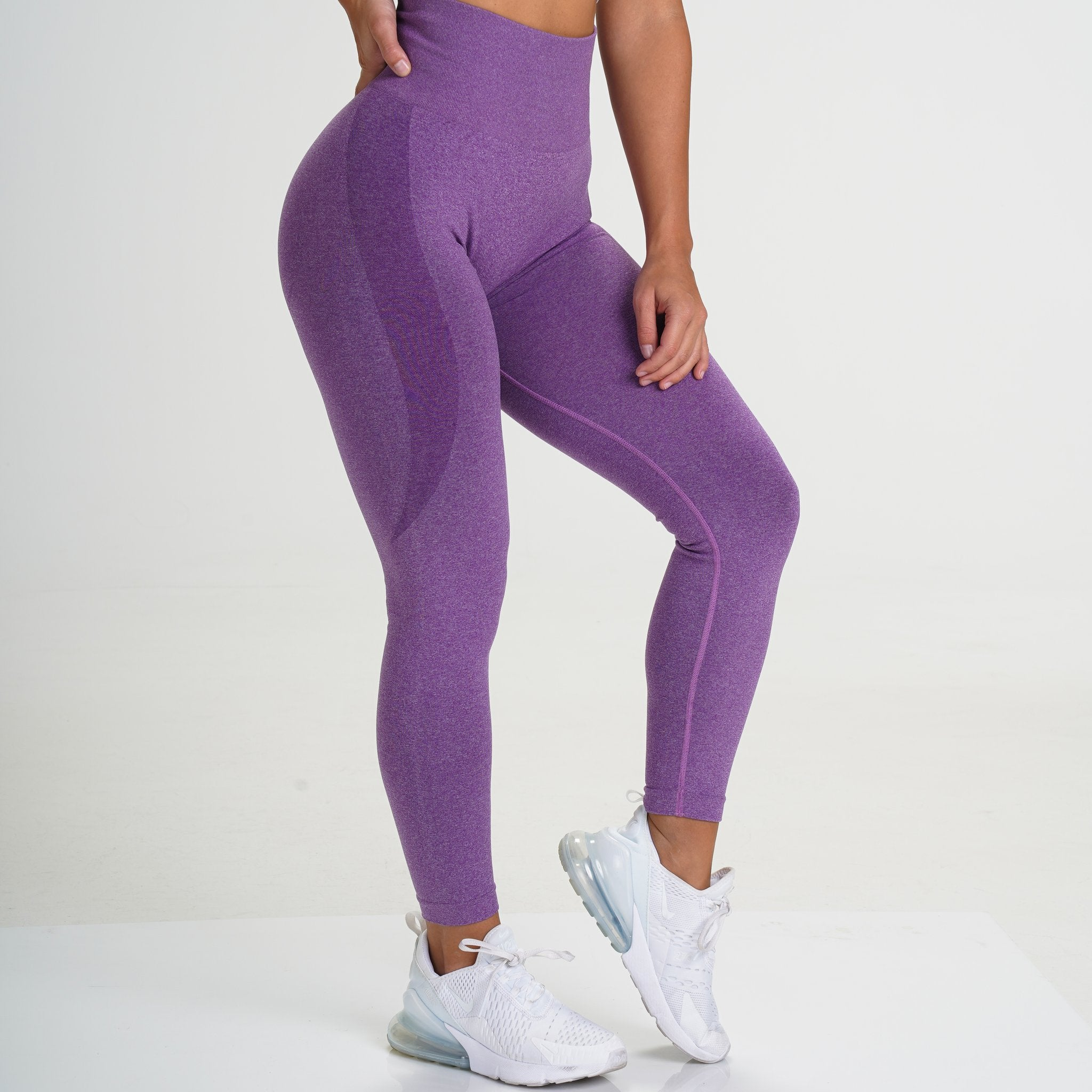 Image of Gymbunny Contour Seamless leggings- Purple