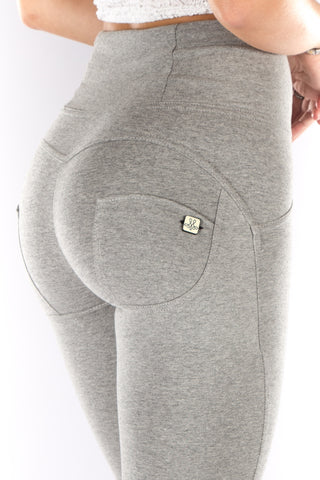 Image of High waist Butt lifting Jeggings - Grey