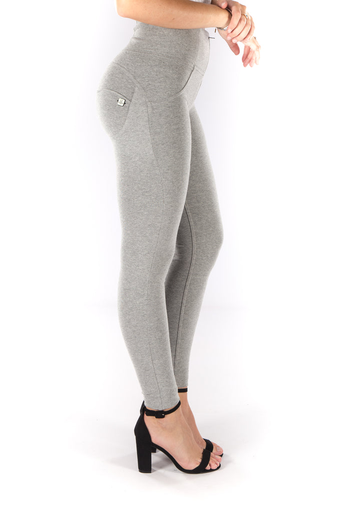 High waist Butt lifting Jeggings - Grey