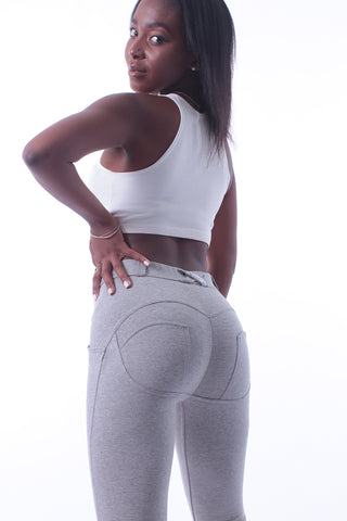 Butt lifting Jeggings - Grey