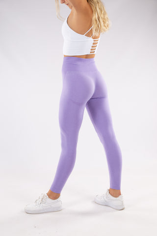 Image of Gymbunny Contour Seamless leggings- Lilac