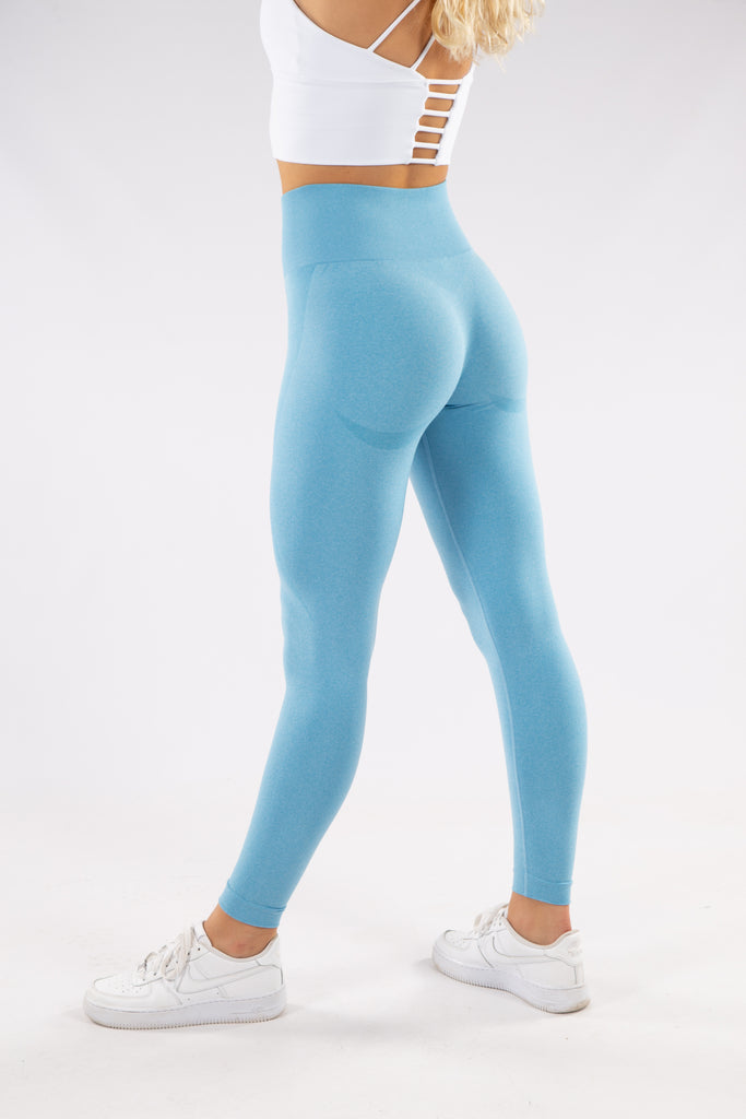 Gymbunny Contour Seamless leggings- Light blue