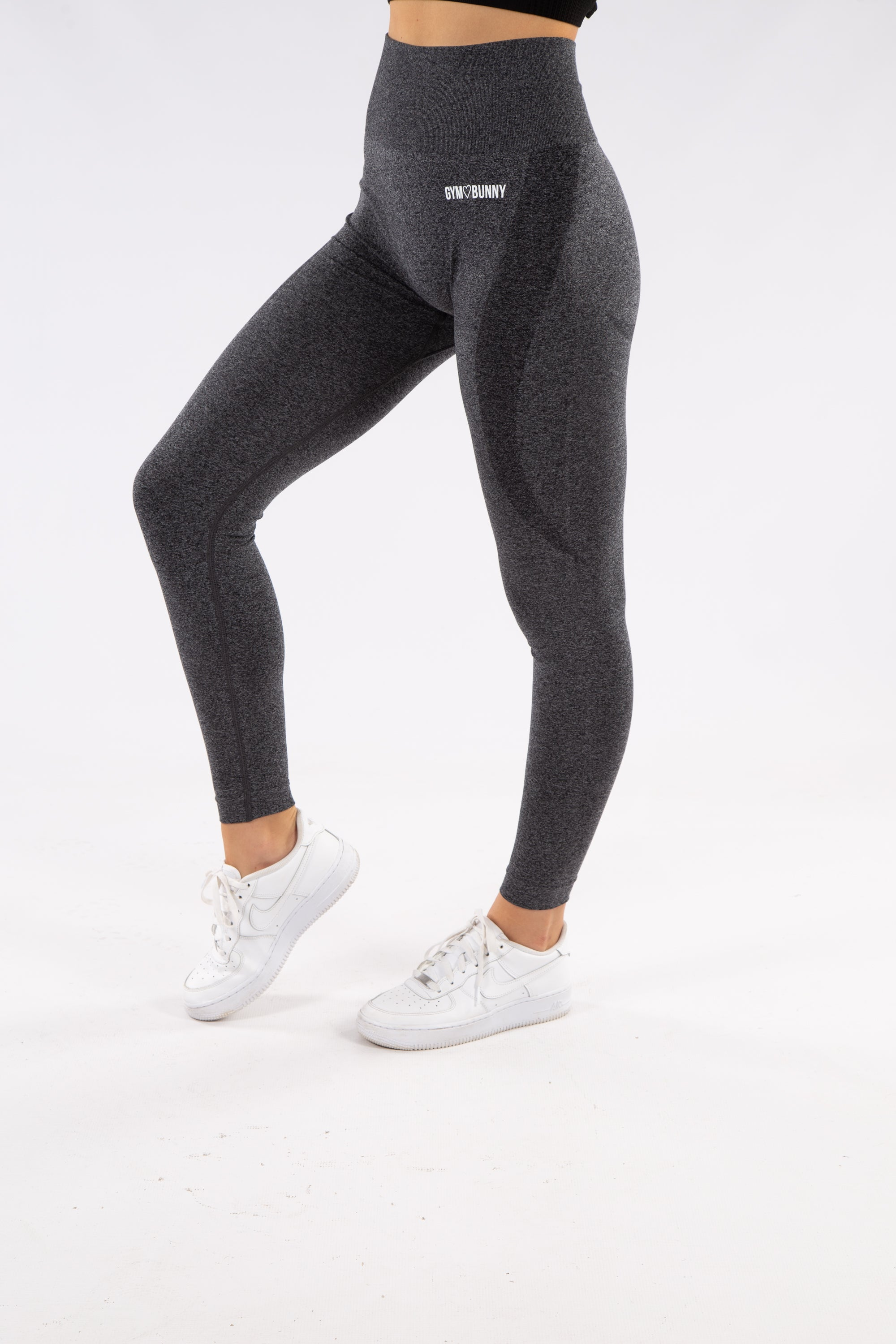 Image of Gymbunny Contour Seamless leggings- Dark Grey