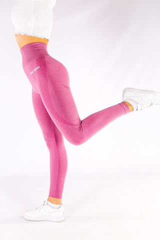 Image of Gymbunny Contour Seamless leggings- Pink