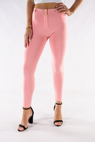Butt lifting Jeggings - Pink