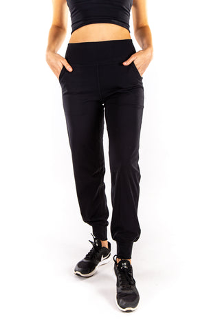 Lulu Buttery Soft Stretch Joggers - black