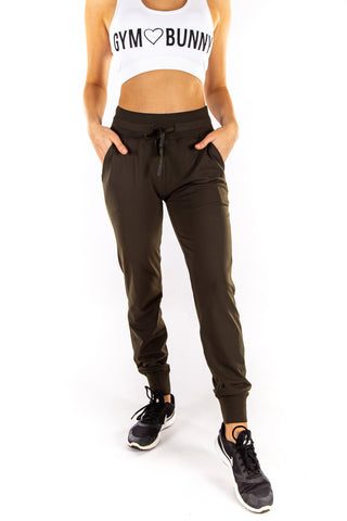 Form fit Joggers - Khaki
