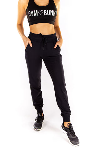 Image of Form fit Joggers - Black