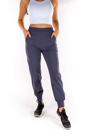 Image of Lulu Buttery Soft Stretch Joggers - Grey