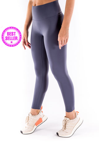 Gym Bunny Lulu  - Buttery  soft Yoga Pants- Dove Grey