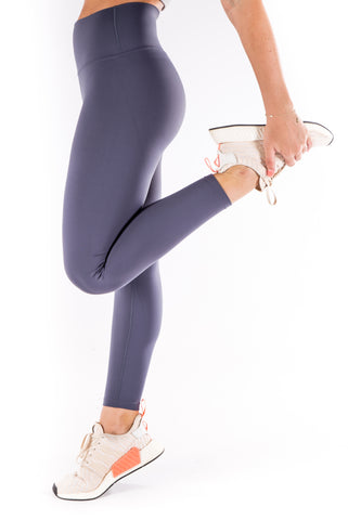 Gym Bunny Lulu  - super soft Yoga Pants- Dove Grey