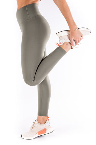 Gym Bunny Lulu  - super soft Yoga Pants- Olive