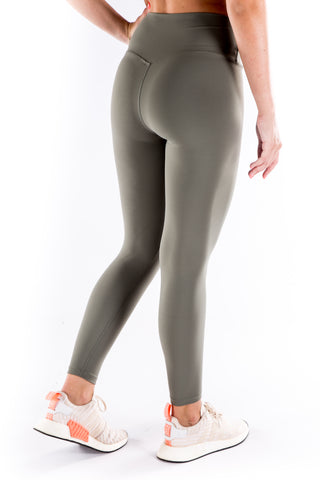 Gym Bunny Lulu  - Buttery soft Yoga Pants- Olive