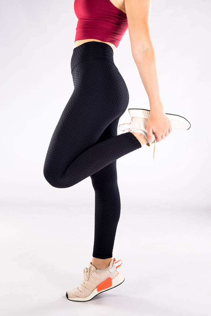 Gym Bunny Cheeky - Anti cellulite leggings - Black