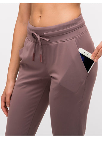 Form fit Joggers - Mauve