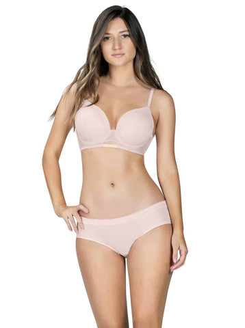 Image of LONDON SEAMLESS UNDERWIRE BRA PORCELAIN