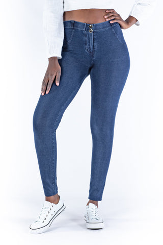 Butt lifting Jeggings - Med/Dark Blue